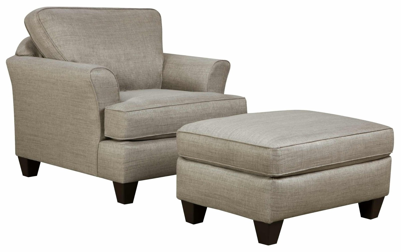 Living room chairs with ottomans large style home cheap for Large living room chairs
