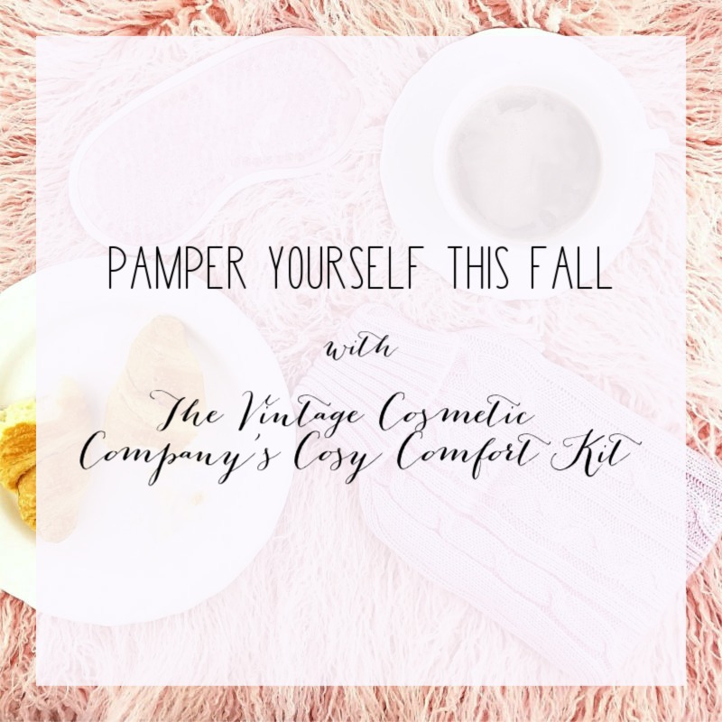 Pamper Yourself this Fall with The Vintage Cosmetic Company's Cosy Comfort Kit 1