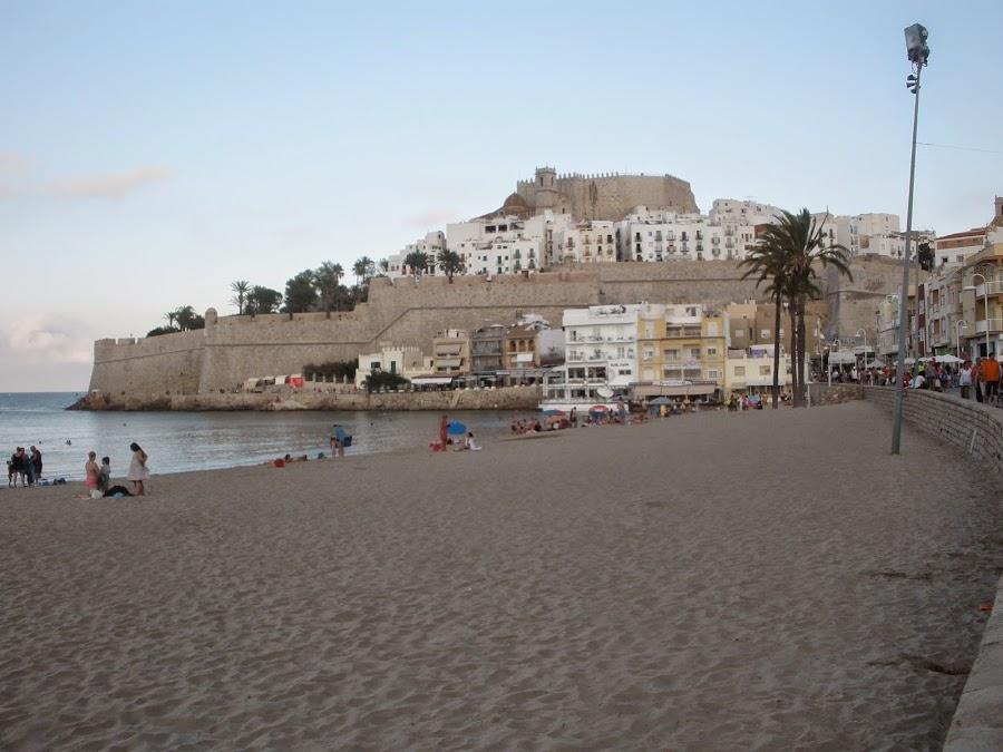 Peñíscola, ciudad medieval portuaria, con un Castillo Templario
