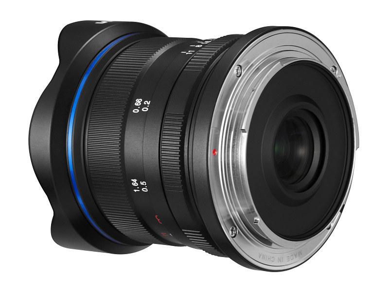 Объектив Laowa 9mm f/2.8 Zero-D, вид сзади