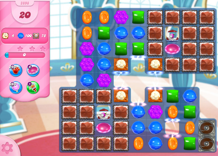 Candy Crush Saga level 2898