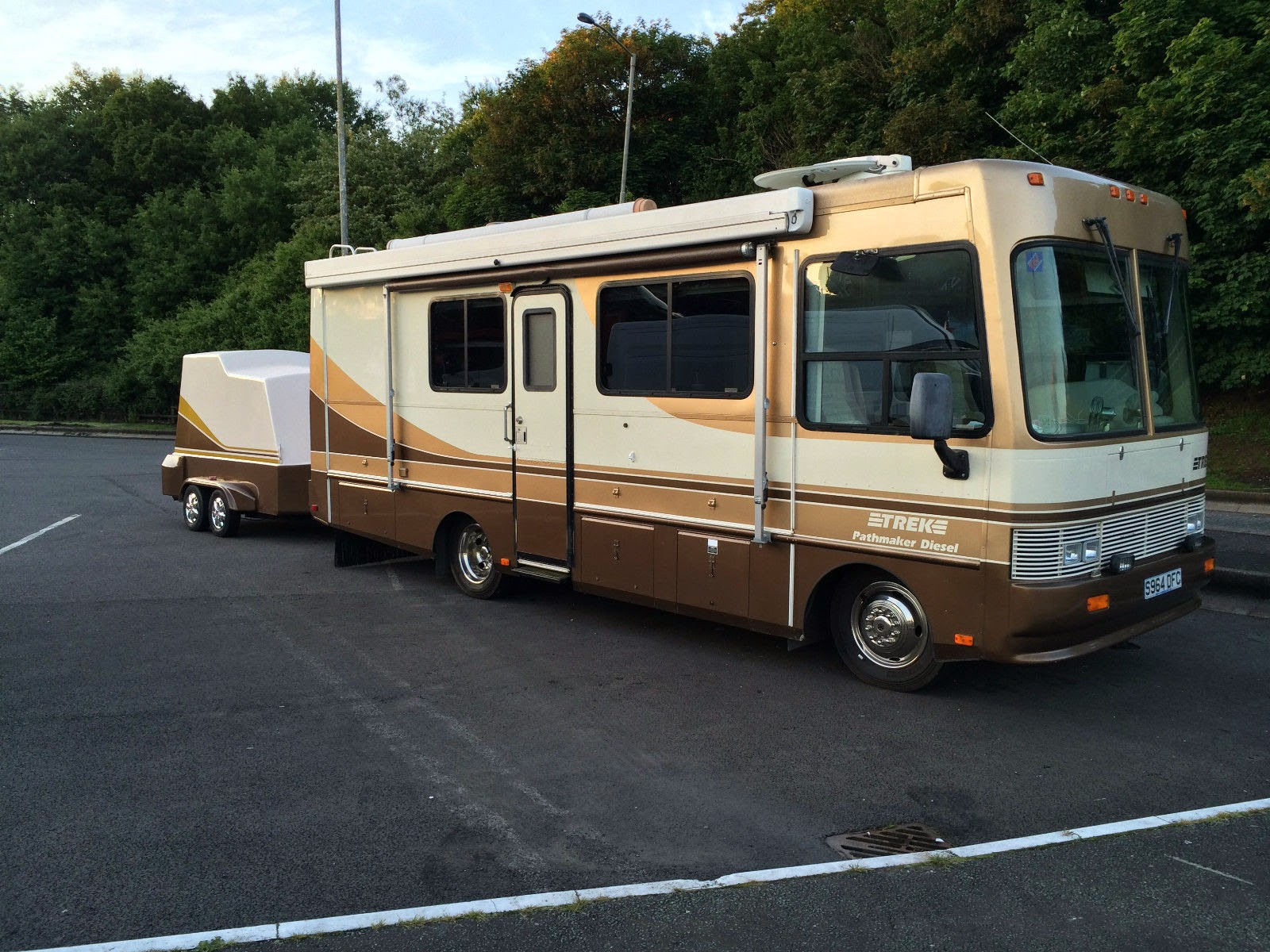 Used Motorhomes For Sale By Owner >> Used RVs 1998 Monaco Safari Trek Pathfinder For Sale by Owner