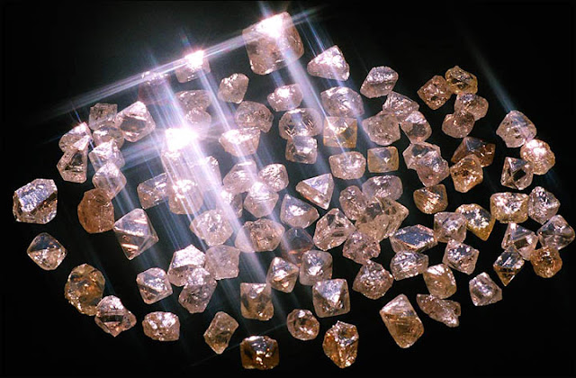 a New Perfection Found in Diamonds Created by an Asteroid