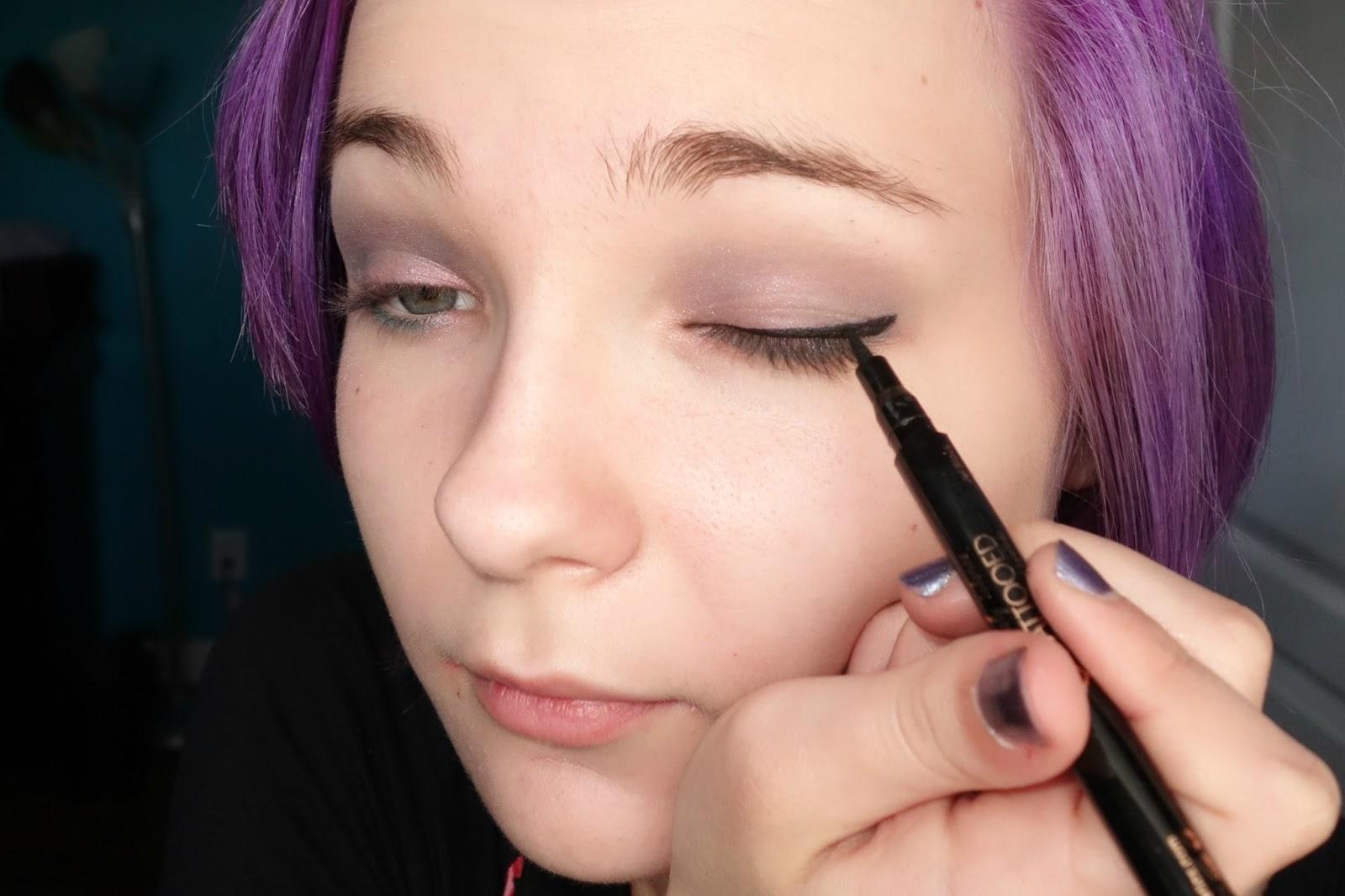 Chromobeauty glossier pink and spring eyes for Skone tattooed eyeliner