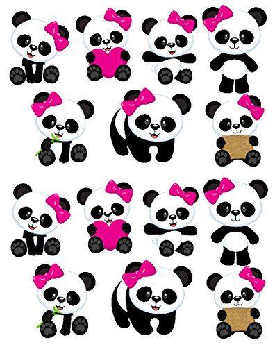 Panda Girl Bear Free Printable Cake Toppers Oh My Baby