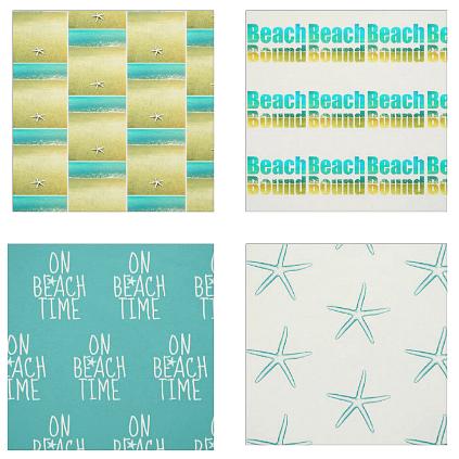 Beach Photo Fabrics
