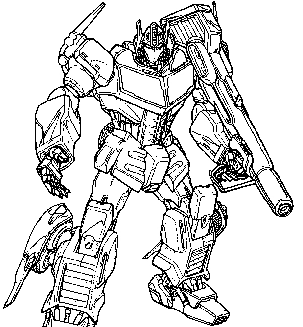 transformers coloring pages side swiper - photo#14