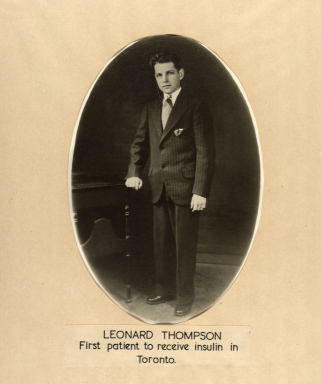 On This Day In Diabetes History: Leonard Thompson  - The Boy Who Lived