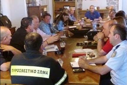 Συνεδρίαση του Συντονιστικού Τοπικού Οργάνου (Σ.Τ.Ο.) του Δήμου Ερμιονίδας