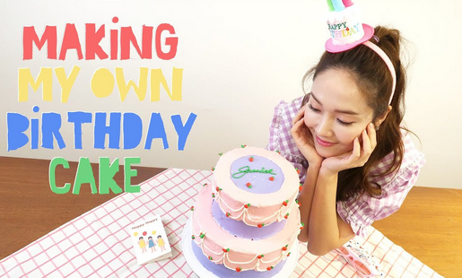 Jessica Jung Birthday Cake Video