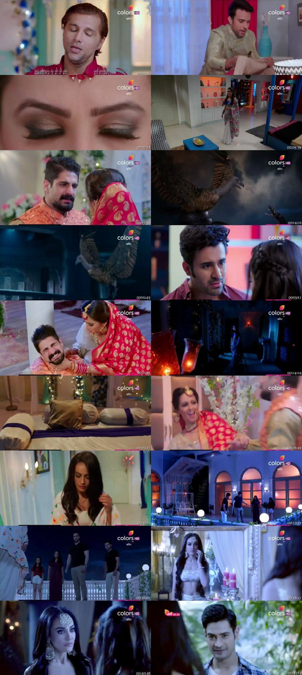 Screenshots Of Hindi Show Naagin Season 3 2018 Episode 47 300MB 480P HD