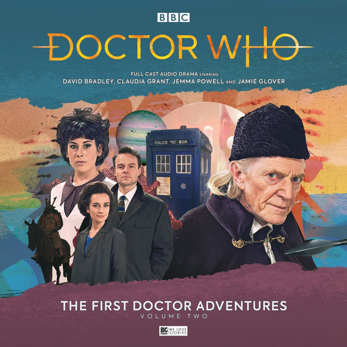 Big Finish: New First Doctor Adventures coming soon - The