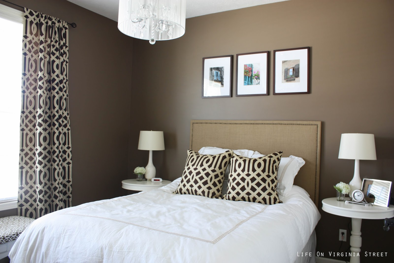 brown paint colors for bedrooms paint colors on virginia 18387
