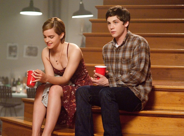 Emma Watson and Logan Lerman
