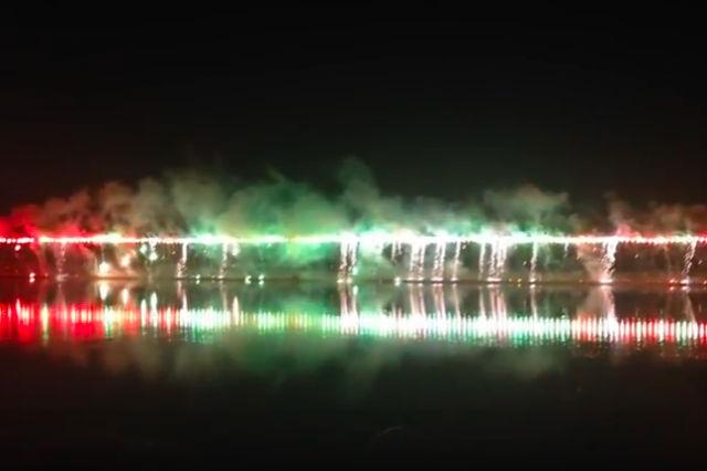 京都 南丹市花火大会(旧名やぎの花火大会)