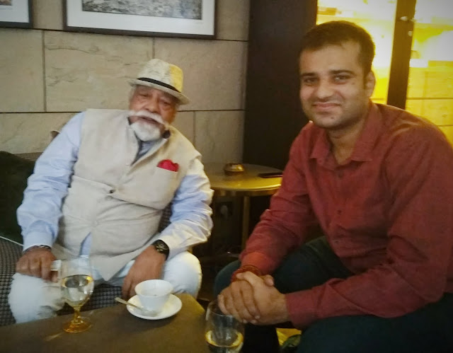 With the legendary face of ITC's Bukhara and Dum Pukht, Padma Shri Chef Imtiaz Qureshi