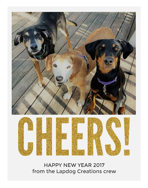 new years 2017 dogs