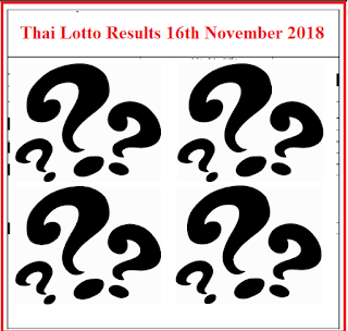 Thai-Lottery-Results-16th-November-2018