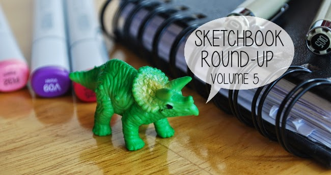 Sketchbook Round-Up: Volume 3 | Yeti Crafts