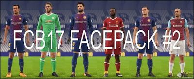 FIFA 18 Facepack v2 by FCB17