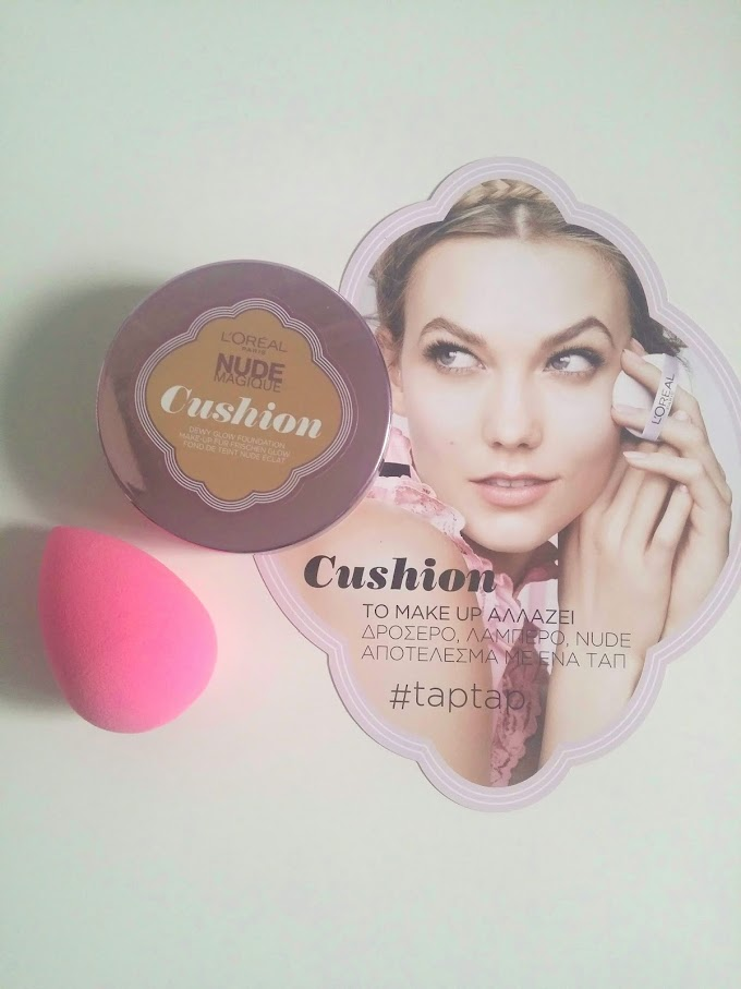 L'oreal Magique Cushion Foundation || REVIEW (Combination-Oily skin)