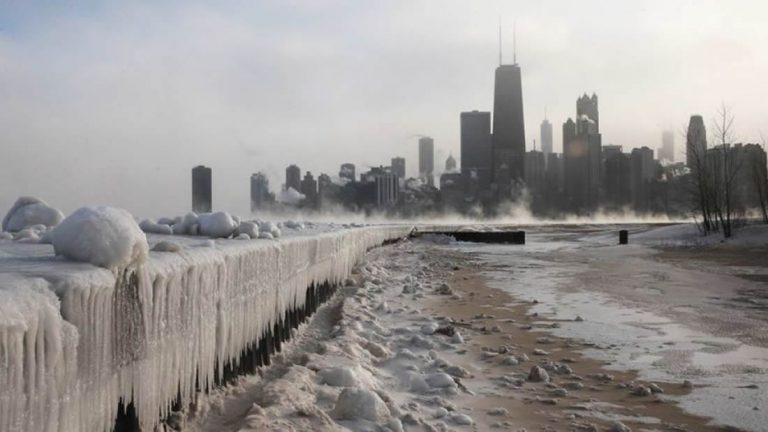 Στο  Σικάγο κάνει τόσο κρύο που οι κάτοικοι αναφέρουν ότι ακούν τον «Cryoseisms - Ice quakes» -VIDEO