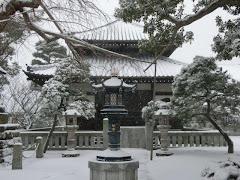 雪の本覚寺