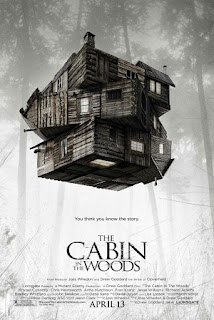 THE CABIN IN THE WOODS 2012 MOVIE POSTER