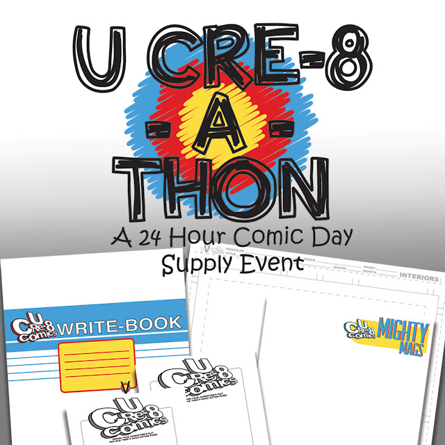 U Cre-8-A-Thon: A New, Annual Event!