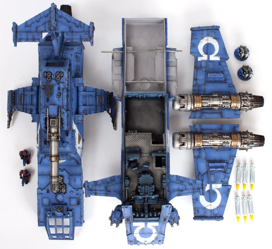 Simple Exhibition Stand Goals : For sale garfy s ultramarine thunderhawk gunship tale
