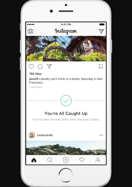 "Instagram memperkenalkan fitur ""You All All Catch Up"" di Feed"