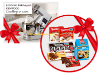 Logo Vinci gratis forniture di prodotti Loacker e 1 Cooking Chef Gourmet Kenwood