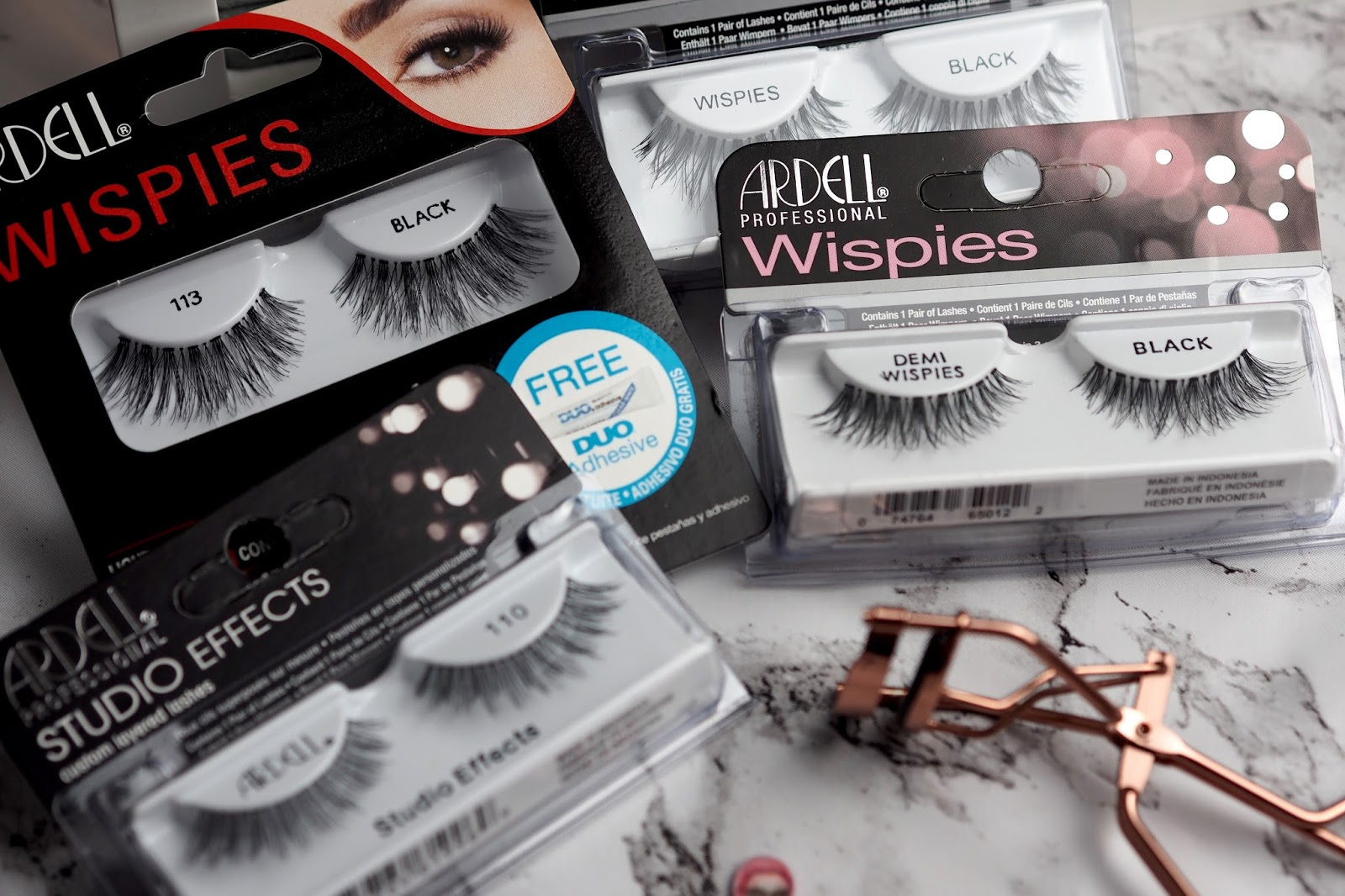 1defa8e383b Ardell lashes vary in price starting from as little as £3.49 and going up  to around £13.99 and you can buy them from FalseLashes.co.uk