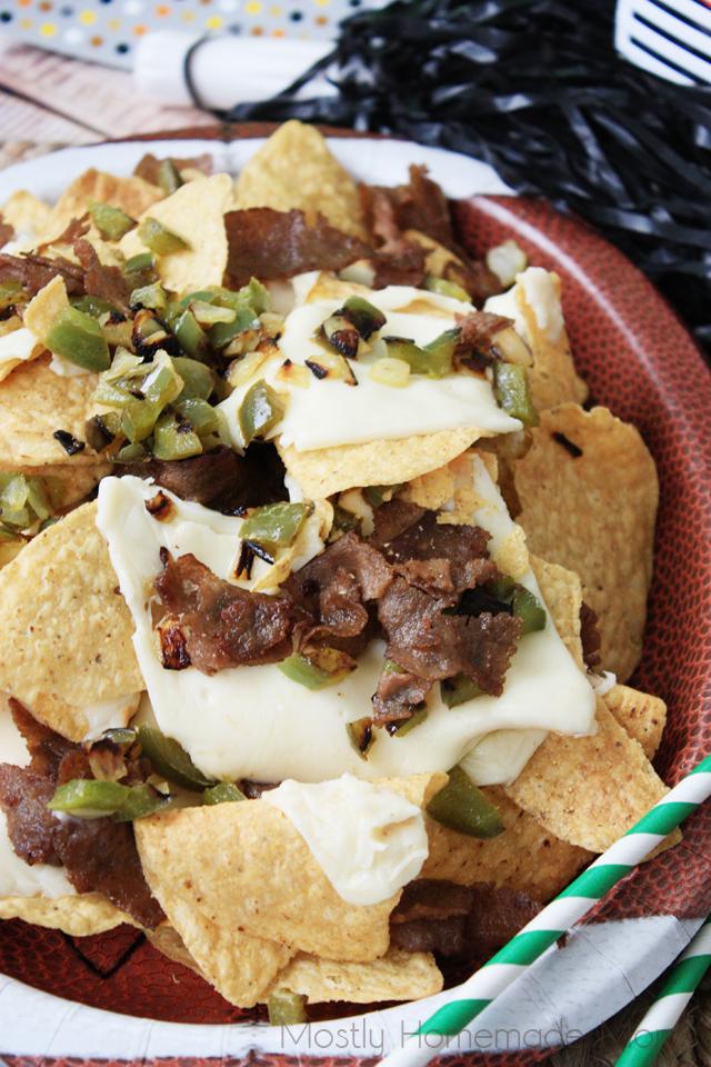philly cheese steak nachos