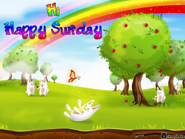 Happy Holiday And Have A Great Sunday Wallpaper