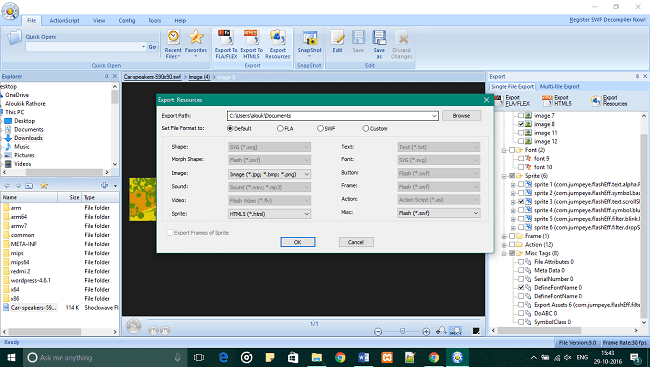 File Setting