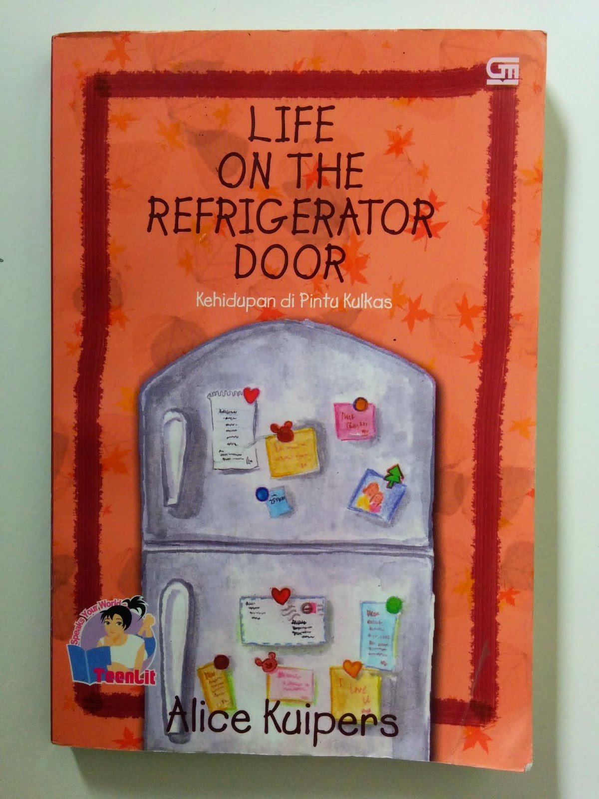 life on the refigerator door response