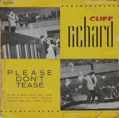 Cliff Richard Et Les Shadows - Please don't tease  (1960) EP