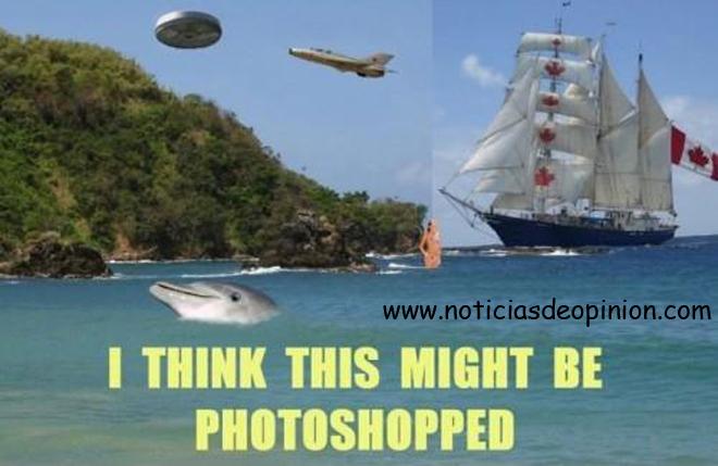 Humor: cómo saber si la foto de un viaje está retocada con Photoshop
