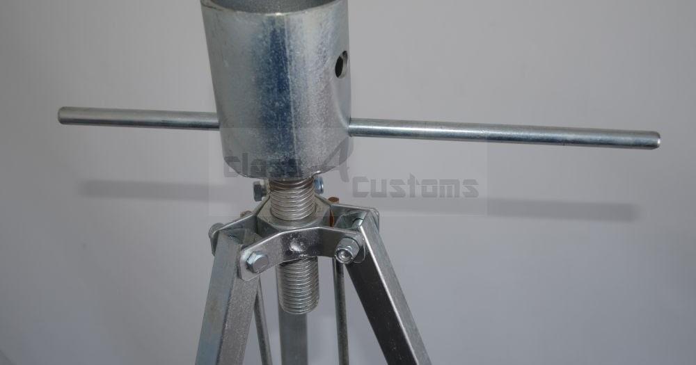 Class A Customs 5th Wheel Tripod Stabilizer King Pin Jack