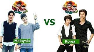 Coffee prince malaysia vs korea