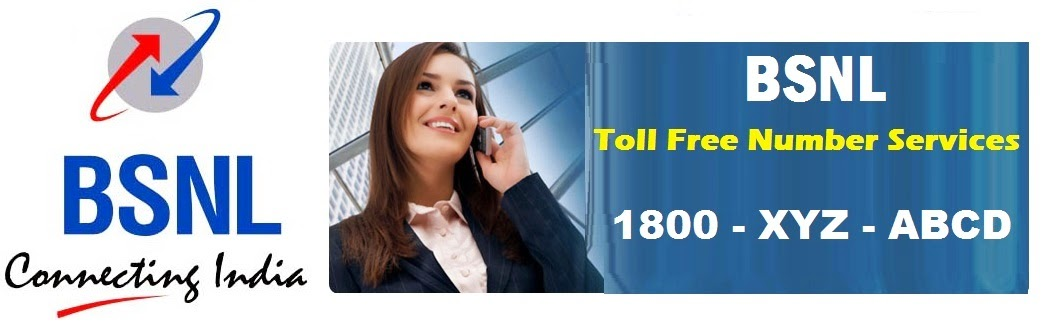 bsnl-toll-free-number-services