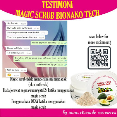 MAGIC SCRUB BIO NANO