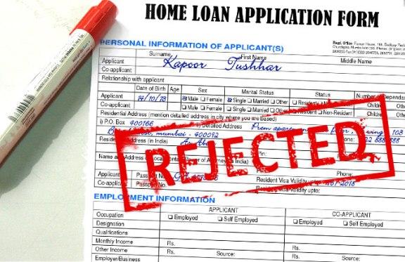 Mengapa permohonan pinjaman rumah ditolak?