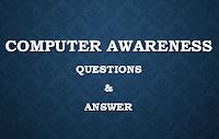 Computer Awareness Questions IBPS Clerk