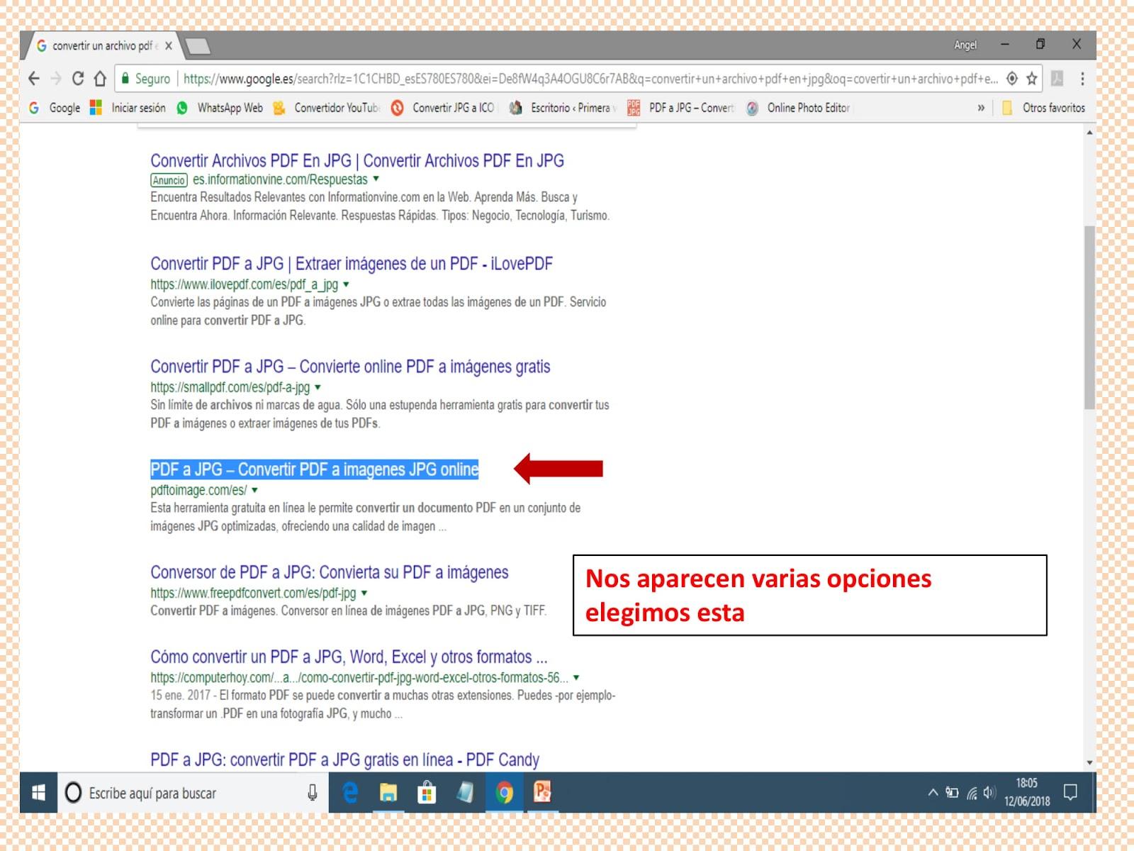 convertir un archivo pdf a jpg en linea