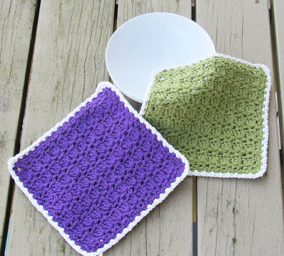Dishcloth or Washcloth Crochet Pattern