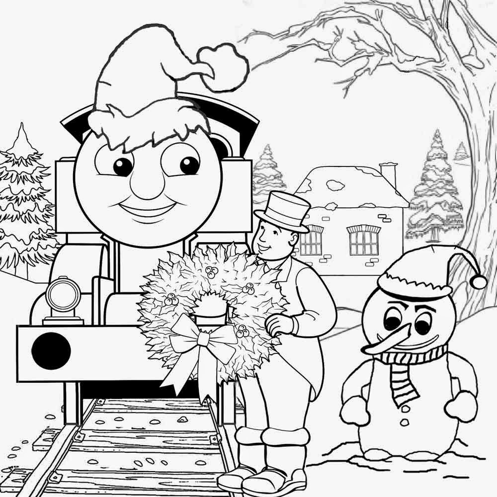 Printable christmas train coloring pages ~ Free Coloring Pages Printable Pictures To Color Kids ...
