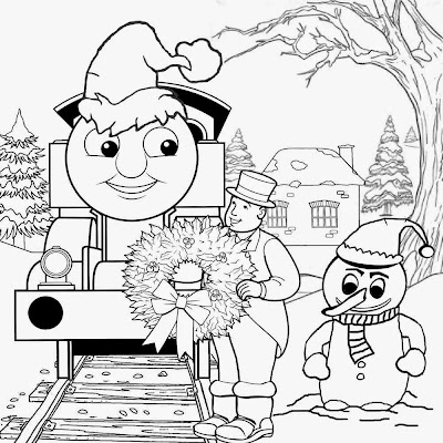 December Xmas train clipart enjoyable Christmas coloring art activities for teenage entertainment