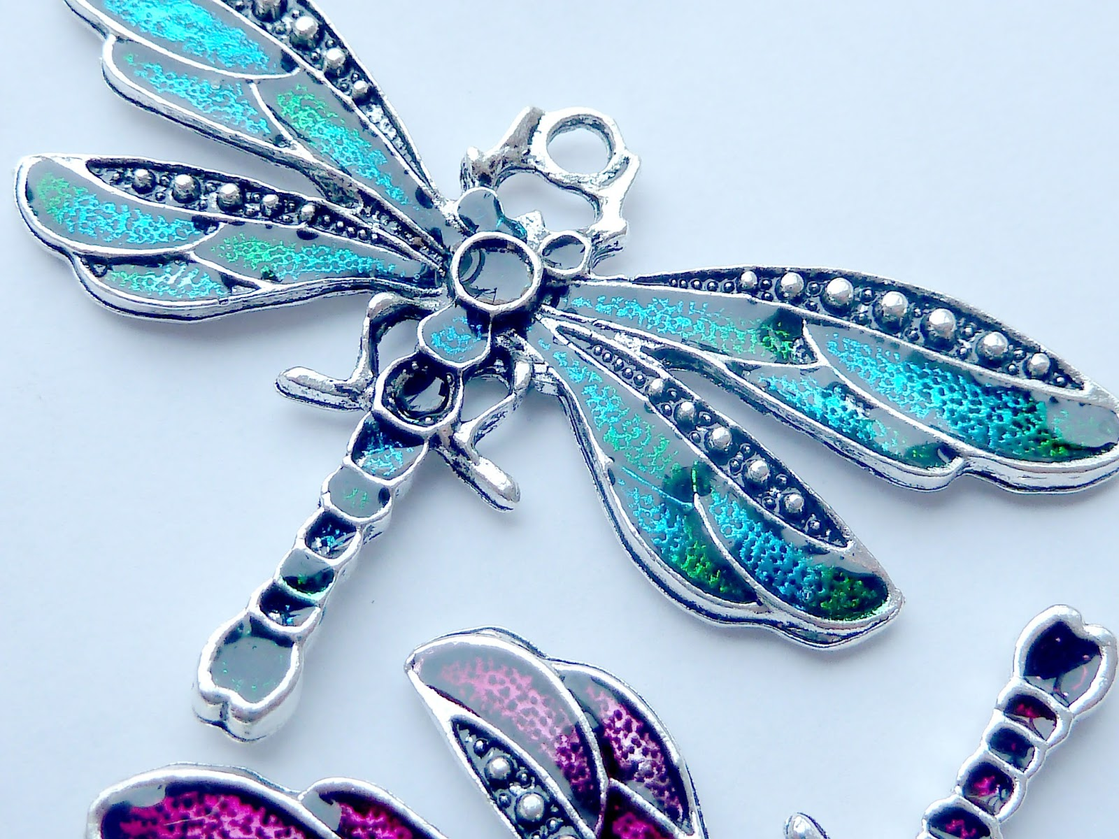 Jewelry Stores Network Sterling Silver Plated Enameled Fish Lobster Clasp Charm 12x17mm